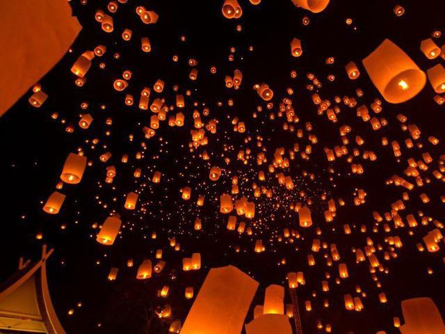 фонарики в небе