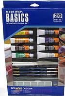 Краски гуашь Basics WBDG1220, 12цвх12мл