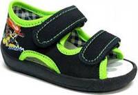 Детские сандали для мальчика размер 19-27 Renbut  Ортопедическая вкладка.