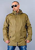 Остин. Куртка парка мужская. Хаки.