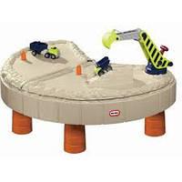 Детская песочница-стол Веселая стройка Little Tikes