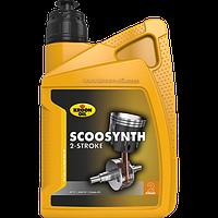 Мото масло для 2-тактных  двигателей скутеров и мотоциклов Kroon-Oil Scoosynth полусинтетическое KL02220 1л