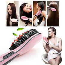 Расческа-выпрямитель Fast Hair с Led дисплеем , фото 2