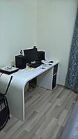 Белый офисный стол, фото 1
