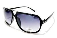 Очки мужские Prada 8301 C2 SM 01845, стильные очки Прада в чёрной оправе