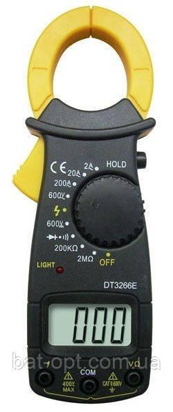 Мультиметр цифровой (тестер) DT-3266Е, 2 щупа