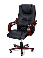 Кресло офисное Prezydent Calviano (черное) (20)