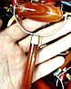 Массажер-валик  из камня Сердолик 12 см, фото 2