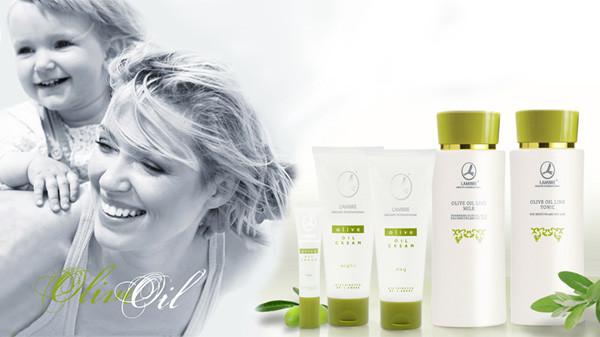 Косметическая серия с оливковым маслом для чувствительной кожи