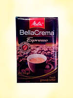 Молотый кофе Melitta Bella Crema Espresso, 250 гр