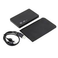 "USB 2.0 карман-кейс для 2.5"" SATA HDD, фото 1"