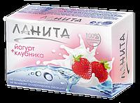 Косметическое мыло Ланита йогурт+клубника 90 г