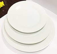 Тарелка круглая фарфор d-24 см