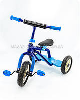 Велосипед детский трёхколёсный «Super Trike» (сине-голубой), фото 1