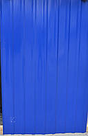 Профнастил  0,45 мм, цвет синий RAL 5005, 2 м распродажа остатков