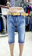 Бриджи джинсовые батал Super Filipp 33 р