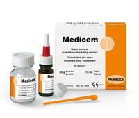 MEDICEM,(Медицем) Фиксирующий стеклоиономерный цемент 15г х7мл