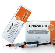 URBICAL LC, светоотверждаемая паста на основе гидроокиси кальция, 2 шприца по 2 мл, 20 насадок