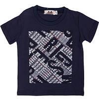 Модная летняя футболка для мальчика в расцветках