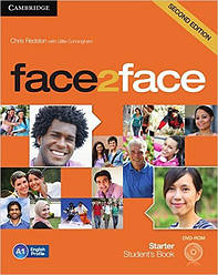 Face2Face Second Editon Starter Student's Book + DVD (Учебник/підручник)