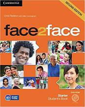 Face2Face Second Editon Starter Student's Book + DVD (Учебник/підручник)