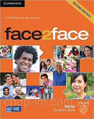 Face2Face Second Editon Starter Student's Book + DVD (Учебник/підручник), фото 2
