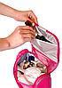 Косметичка дорожная в ванную с крючком Premium (розовый), фото 4