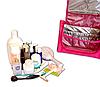 Дорожный органайзер для косметики Premium (розовый), фото 7