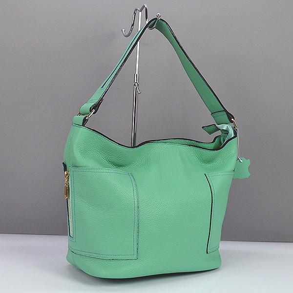 23c670c0a7a8 Мятная кожаная сумка ручная работа Viladi - Интернет магазин сумок SUMKOFF  - женские и мужские сумки