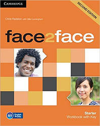 Face2Face Second Editon Starter Workbook+Key (Рабочая тетрадь/зошит)