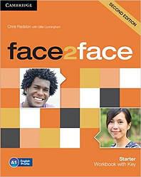Face2Face Second Editon Starter Workbook+Key (Рабочая тетрадь/зошит)