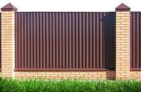 Профнастил стеновой. ПС 8. Профнастил для забора, фасада, фронтона