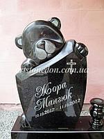 Памятник детский Мишка полированный, фото 1