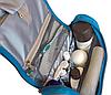Дорожный органайзер для косметики Premium (голубой), фото 8