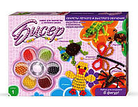 Набор для творчества Бисер средний Danko Toys, фото 1