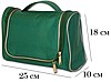 Дорожный органайзер для косметики Premium (зеленый), фото 2