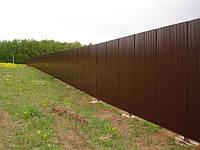 Профнастил стеновой. ПС 8. Профнастил для забора, фасада, фронтона глянец, фото 1