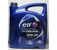 Масло моторне ELF Evolution 700 Turbo Diesel 10W-40 4л (203701)