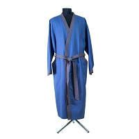 Халат Santa Mira синий мужской размер L