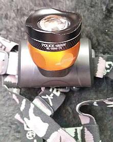 Налобный фонарик Bailong Police BL-6966-T6 + 2 аккумулятора