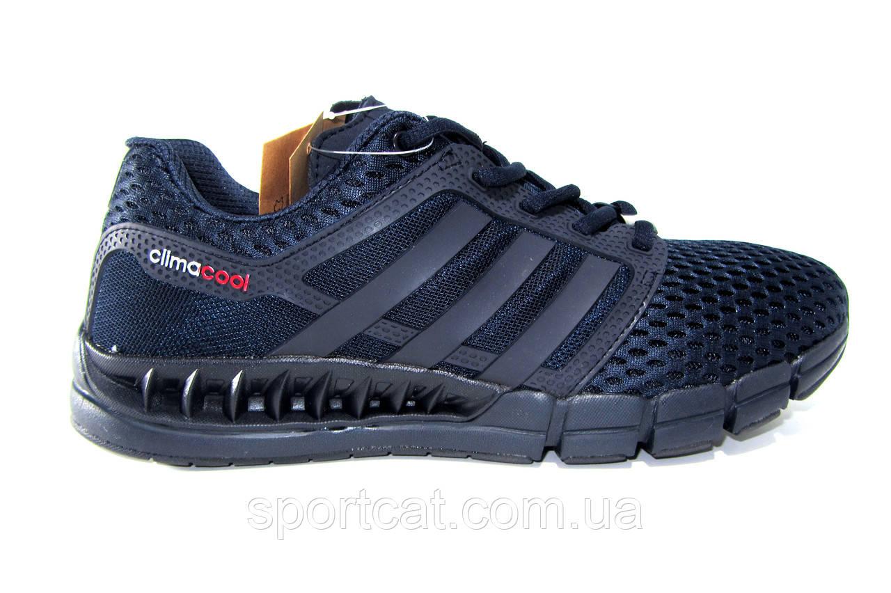 Мужские кроссовки Adidas Сlimacool, синие, сетка
