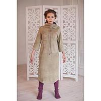 Дизайнерское флисовое платье купить