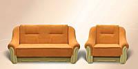 Гарнитур Оскар (диван+кресло) спальное место 1,95м х 2,0м