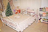 Кровать кованная с ламельнай основой 200х160см