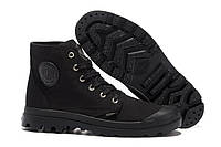 Кеды  Palladium Pampa Hi Black  мужские, фото 1