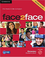 Face2Face Second Editon Elementary Student's Book with Online Workbook + DVD (Учебник с диском)