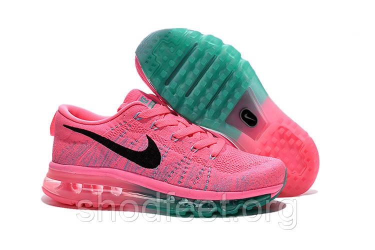 Женские кроссовки Nike Air Max Flyknit Pink