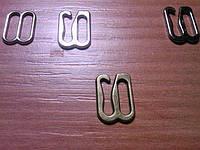 Крючек для брителей 1см метал швейная фурнитура Харьков цвет антик
