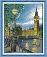 """Набор для вышивки крестом  """"Лондон"""""""