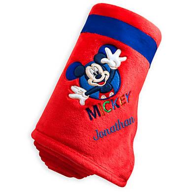 Плюшевый плед с Микки Дисней / Mickey fleece throw Disney